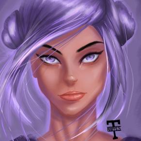 girl sketch face 2
