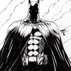 Inktober batman web size